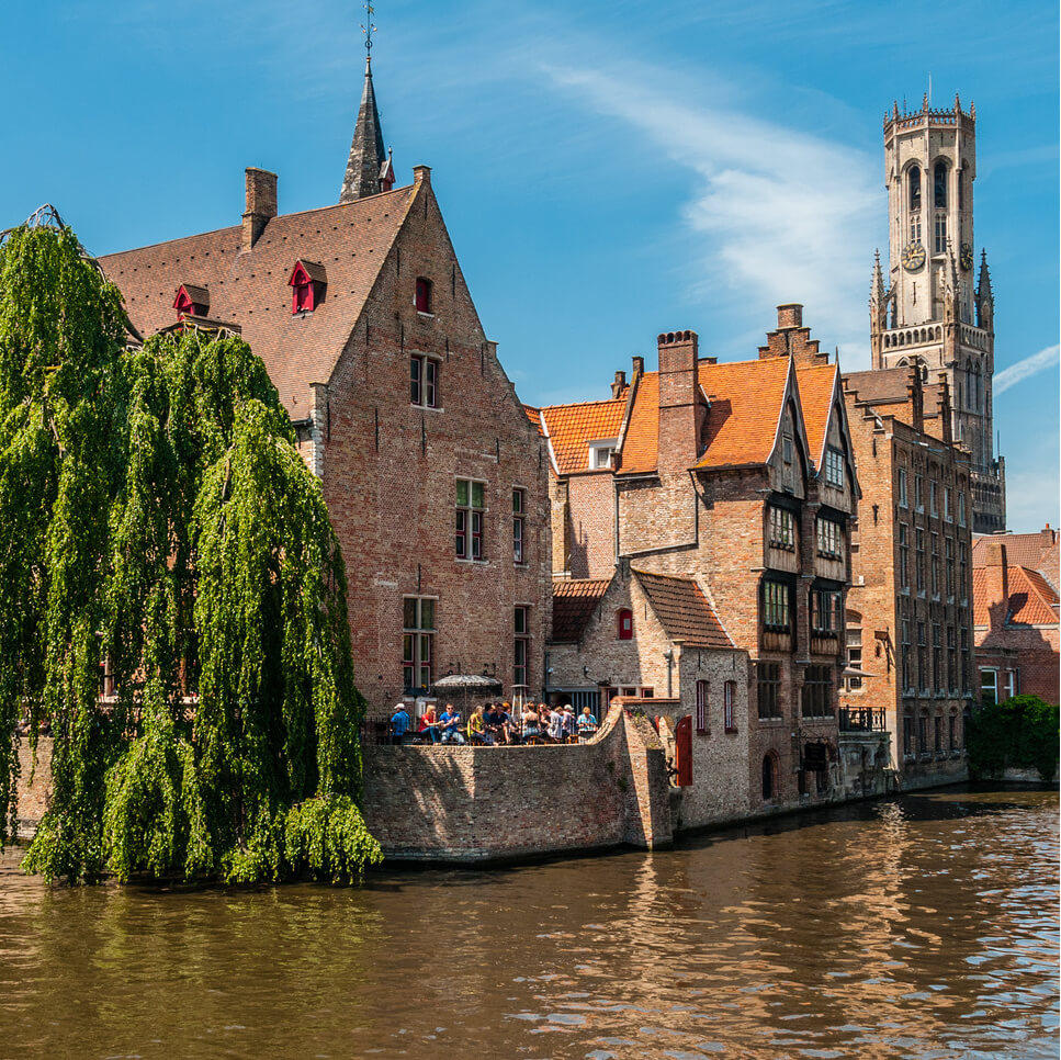 Book your inexpensive bus trip to Belgium FlixBus