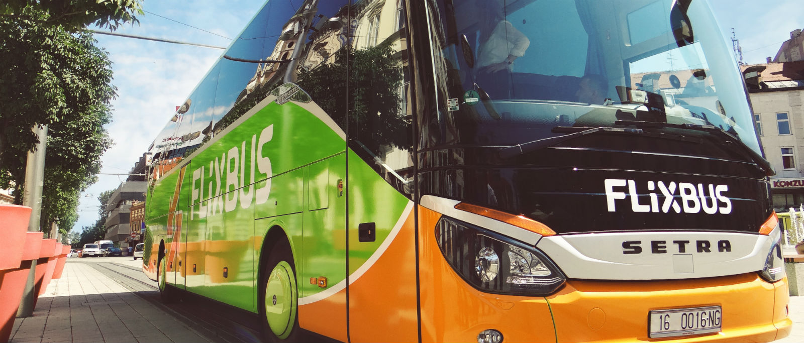 Bus Berlin Frankfurt from 1199 FlixBus