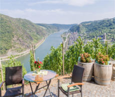 Rhine valley - one of Europe's most romantic places